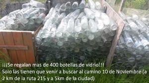 REGALO Botellas de Vidrio - agua-jugo-leche-souvenirs