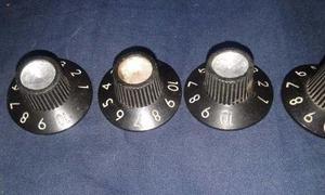 Set De Perillas Fender Para Amplificador, Originales
