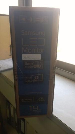 """Venta monitor 19"""" nuevo en caja sin abrir"""