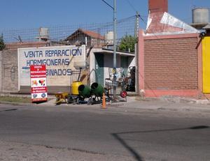 venta y reparacion de maquinas hormigoneras y motores.