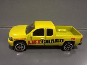 Oferta ! Chevrolet Silverado guardavidas Majorette 1/64