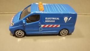 Renault Trafic Service Electric Majorette 1/64 Originales !