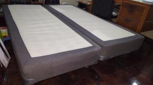 Base Sommier 160x200 Impecable Rosario