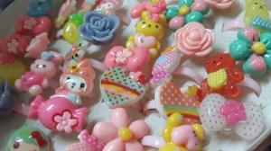 Lote De 30 Anillos Plastico Para Nena Figuras Surtidas