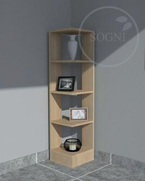 Mueble esquinero moderno de 5 estantes  6723c6ceb999