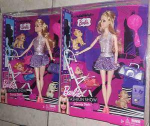 Muñeca Barbie+coche C/ Bebe+ Mascotas Y Accesorios !! Nuevo