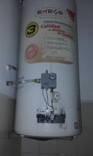 vendo termotanque 85 lts - marca emege - usado en buen