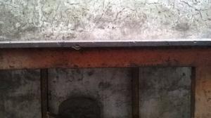 Banco de trabajo totalmente de Acero - plancha de 12 mm