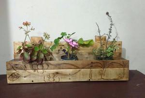 Muebles echos con pallet de madera posot class - Muebles artesanales de madera ...