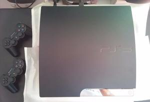 PLAY STATION 3 SLIM 160GB 13 JUEGOS UNICA,EXCELENTE!!!