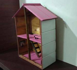casita infantil de madera para muñecas oferta