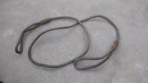Linga De Cable de Acero Galvanizado (20 mm x 3 metros)
