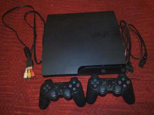 Vendo Play Station 3 + 2 Joysticks + juegos + Play move