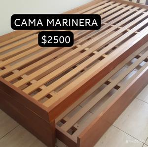 Vendo cama marinera 1 plaza