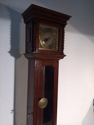 Antiguo Reloj De Pie Carrillon Con Pendulo,