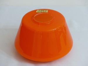 Lámpara Colgante De Vidrio Naranja Marca Emver