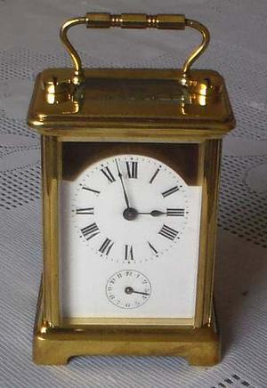 Reloj De Mesa Antiguo Tipo Paris