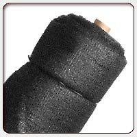 Vendo media sombra negra 80% de 4 mts de ancho x 10 mts de