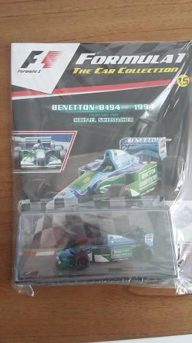 Benetton B Schumacher 1/43 Formula 1 Salvat