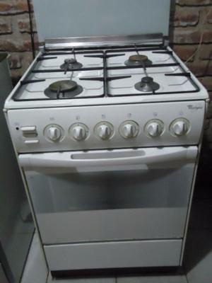 Cocina WHIRLPOOL- Horno a Gas - Grill Electrico- EXCELENTE