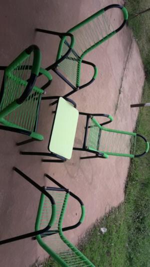 Juego de silletas