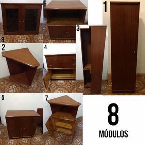 Muebles Para Comedor! 8 Módulos!