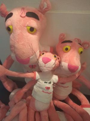 Panteras Rosa peluches desde $ 300