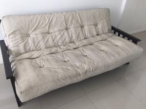 futon Sillon-Cama 3 cuerpos Colchon de Resortes!!!
