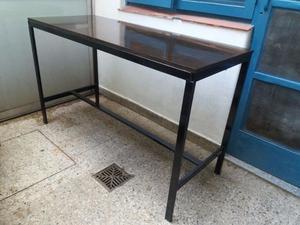 mesa de trabajo 150 x 60 x 90 Hierro y Madera