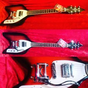 Guitarra Eko Rocket Impecable $