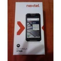Nextel Ironrock Xt626 Version 2 Fondo Roja Nuevo En Caja
