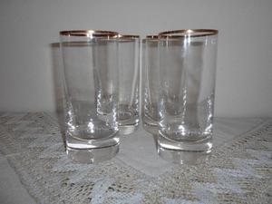 Oferta de la semana! Vasos de cristal trago largo/liso. Un