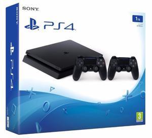 PlayStation 4 slim de 1TB, 2 Joystick + juego. NUEVA Y EN EL