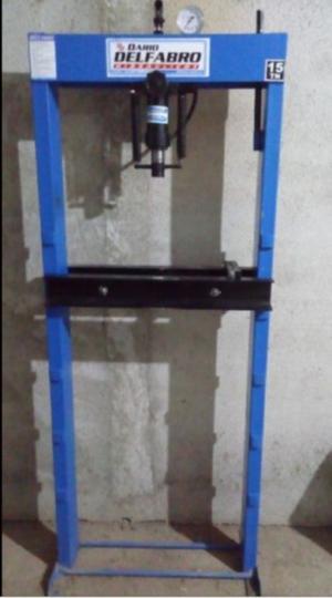 Prensa hidraulica de pie de 15 toneladas
