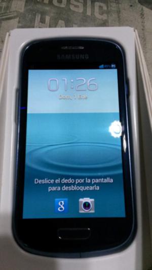Samsung Galaxy S3 Mini Gt-il Libre De Fábrica Impecable