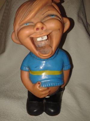 juguete antiguo muñeco de Boca al 22 cm