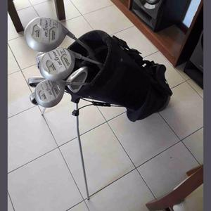 palos de golf Pro Kennex impecables mas tripode y doce