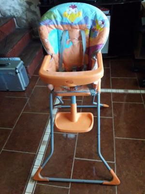 silla para bebe con bandeja
