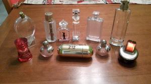 24 Frascos Perfumes Importados Vacios - Liquido Ya!!!