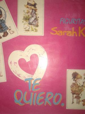Album Incompleto figuritas Sarah Kay Te Quiero