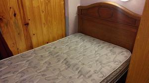 Cama 1 plaza y media mas colchón