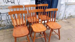 Juego 2 sillas apoya brazo cabecera sillon windsor posot for Almohadones para sillas windsor