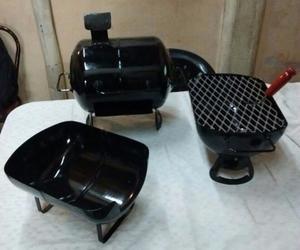 Mini Chulengos Set X 3 Unicos + Palita Y Atizador Gratis!!