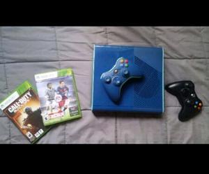 Xbox 360 Slim Elite 500gb + 41 juegos + 2 controles
