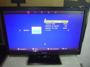 combo tv led 24 ´´ admiral y equipo audio sony