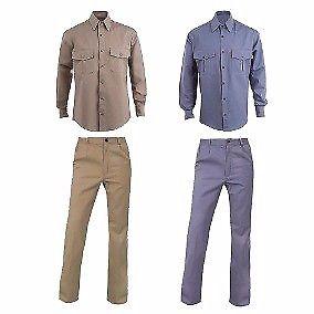 ropa de trabajo camisas, pantalón, cargos