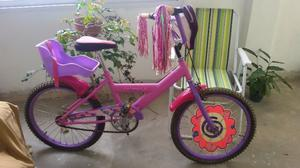 Bicicleta Pioneer Princess Rodado 20 Ful