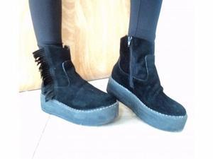 Botas de gamuza, N°37