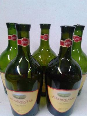 Botellas Viñas De Alvear  Ml Vacias X 10