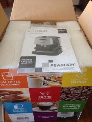 Cafetera express Peabody capacidad 1,8 L nueva a estrenar